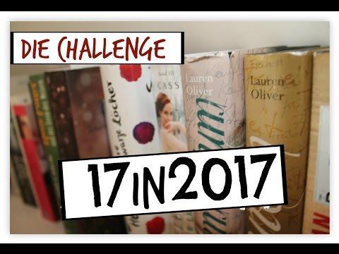 #17in2017 DIE BUCH-CHALLENGE / LESELISTE 2017| booklove Toni