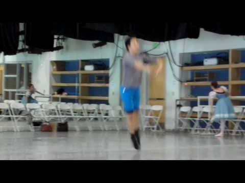 Alex Wong & Jenifer Lauren Flower Festival Rehearsal Ballet