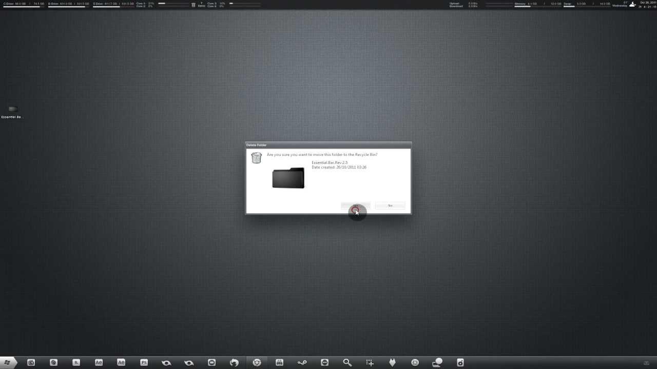 Windows 7 Skin And Rainmeter Tutorial Custom Visual