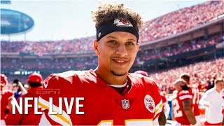 Chiefs trading for Patrick Mahomes is the best draft-day trade ever - Louis Riddick | NFL Live