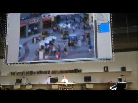 Adobe MAX 2011 - Photoshop Image Deblurring sneak