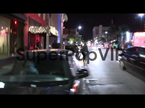 Matt Leinart departs Aventine in Hollywood, 01/31/13