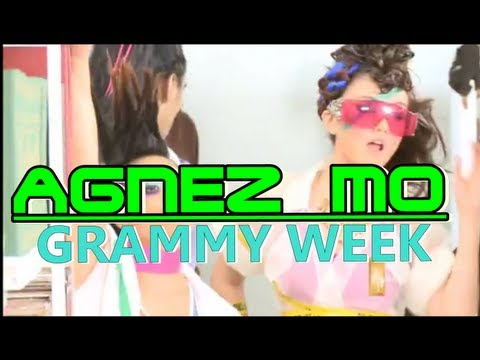 agnezmo Grammy Week video