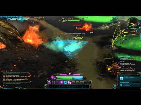WildStar beta: SWAT: Emberwood Extinguisher soldier path quest