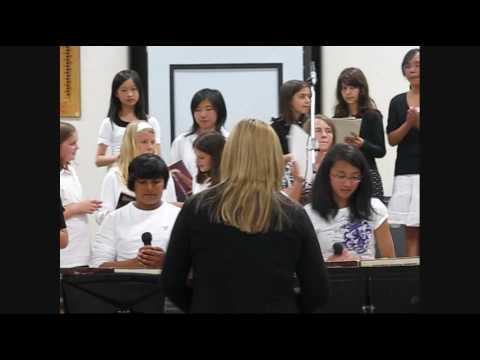 Maple Creek Middle School Choir 3