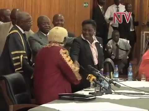 Museveni calls for Amama & Kadaga truce