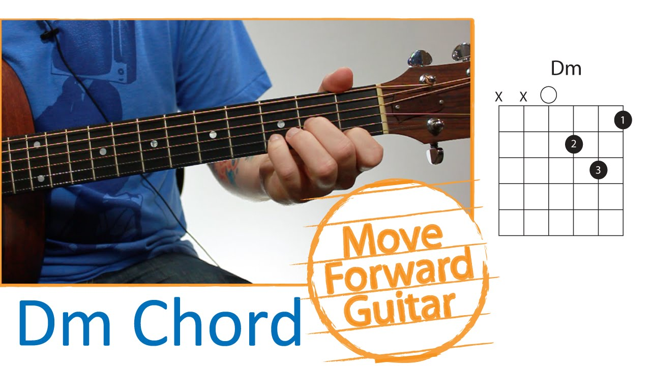 Guitar Chords for Beginners - Dm - YouTube