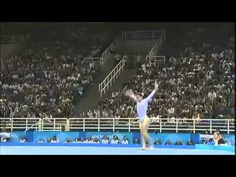 Catalina Ponor - Floor Exercise - 2004 Olympics Team Final video