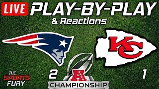Patriots vs Chiefs | Live Play-By-Play & Reactions