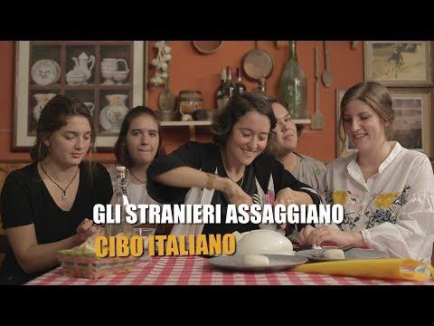 Gli STRANIERI assaggiano CIBO ITALIANO