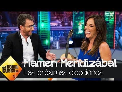 Mamen Mendizábal analiza las próximas elecciones - El Hormiguero 3.0