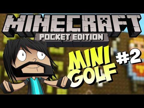 Minecraft PE Pocket Edition : Mini Golf Part 2