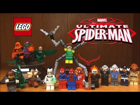 LEGO Ultimate Spiderman ALL MINIFIGURES Full Collection 2016 Marvel