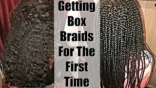 Getting Box Braids For The First Time