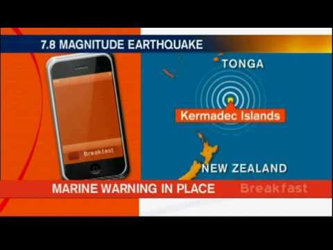 7.07.2011.Kermadec Islands region,tsunami warning downgraded after 7.8 quake.avi
