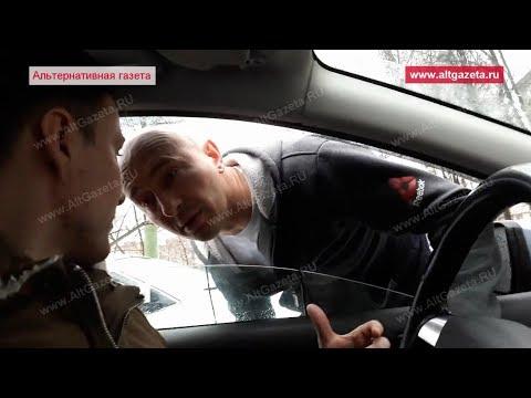 Таксист быкует на моего брата из-за парковки. Кто знает его?