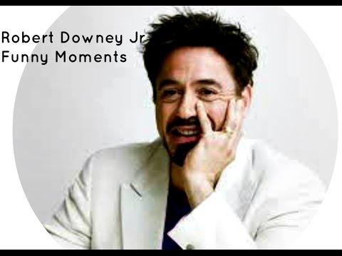 Robert Downey Jr Funny Moments 2 Part 1