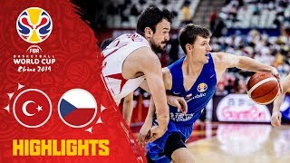 Turkey v Czech Republic - Highlights - FIBA Basketball World Cup 2019