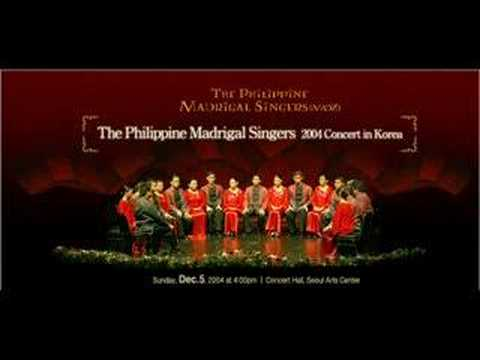 Rosas Pandan - Philippine Madrigal Singers video