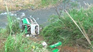 Tai nạn xe khách nghiêm trọng trên đèo Lò Xo, tỉnh Kon Tum