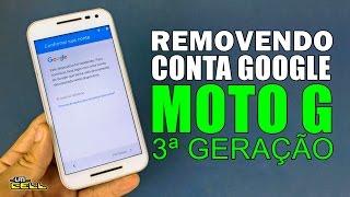 Resetar as configurações do Motorola Moto G 3ª Geração