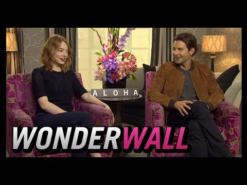 Emma Stone and Bradley Cooper Get Silly During 'Aloha' Chat