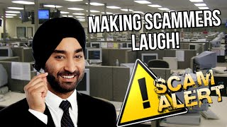 Making Indian Scammer's Laugh! - Rakesh's First Open Mic Goes Well!