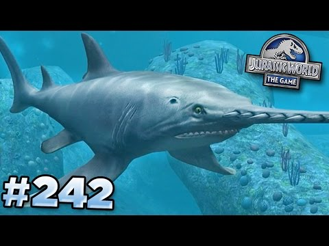 Sword Shark Unlocked! || Jurassic World - The Game - Ep242 HD