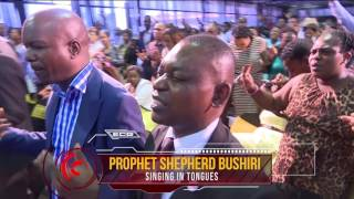 Powerful Demonstration of Gods Power | Singing in Tongues | Prophet Shepherd Bushiri