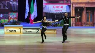 Olga Zaidulina & Alexei Panferov - Europameisterschaft 2015