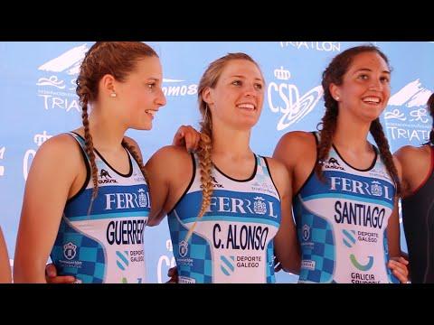 Campeonato España triatlon relevos 2015. Allon Sports