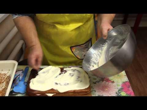 Как приготовить сметанный крем - видео