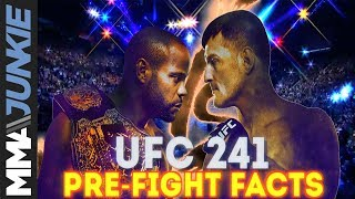 UFC 241 pre-fight facts: Daniel Cormier vs. Stipe Miocic