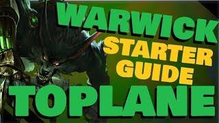 Warwick Starter Guide - Top Lane