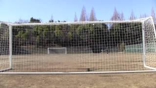 サッカーで野球の変化球を再現してみた