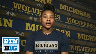 Talking Michigan Hoops with Naz Hillmon | B1G Women's Basketball