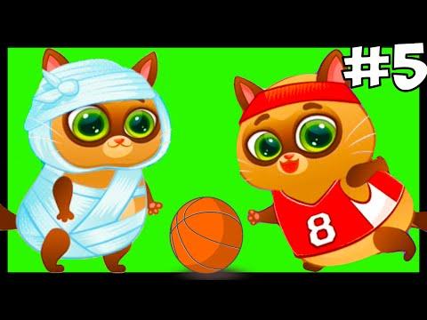 Мультики для Детей: Котик Bubbu #5 Детские Игры: Киска Бубу