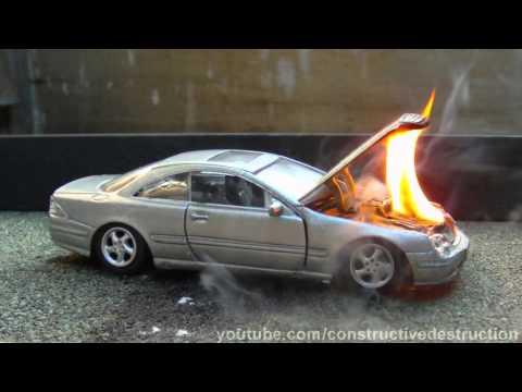 Toy Car Engine Fire