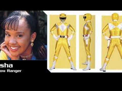 Power Rangers Yellow Girl Yellow Power Ranger