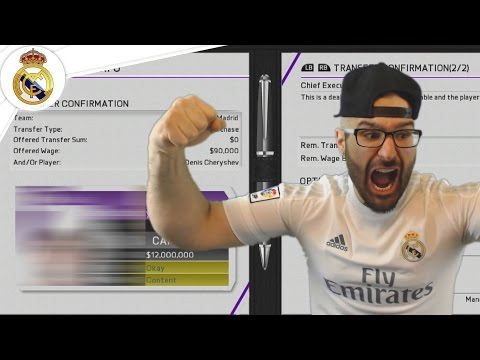 REAL MADRID LEGEND RETURNS! Career Mode FIFA 16 #06
