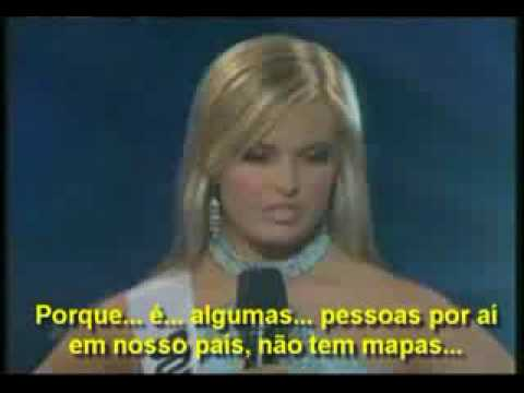 Loira Burra Miss Carolina do Sul - Stupid Girl
