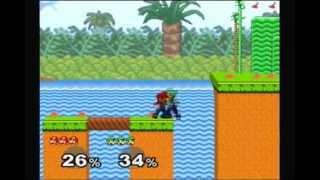 Super Smash Bros. Melee Battle #31: Mario vs. Luigi