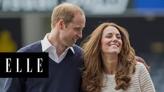 This Is Why Prince William and Duchess Catherine Don't Hold Hands in Public | ELLE