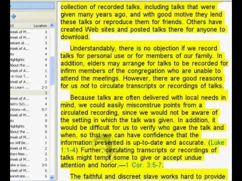 Testimoni di Geova(Lo schiavo, molto nervoso, istruisce ai TDG non consegnare i vecchi discorsi) thumbnail