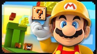 Super Mario Maker + Minecraft = This