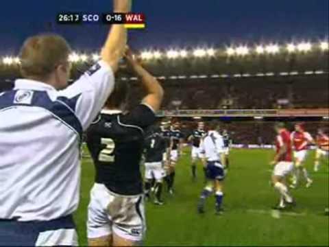 Scotland vs Wales 2011 Six Nations - Scotland vs Wales Six Nations 2011