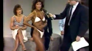 Ms. Olympia Rachel McLish on TV 1984