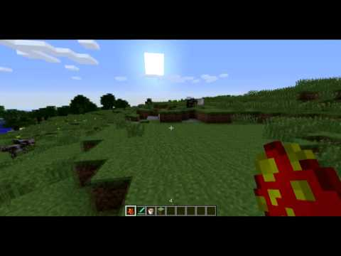 Minecraft 1.5.1 - Review Lava Monsters MOD