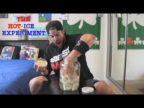 Hot Ice Experiment Goes Terribly Wrong (Ft. L.A. BEAST)