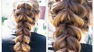 Fausse tresse collée facile (spéciale cheveux fins)